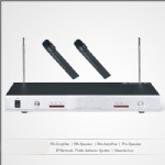Professional wireless microphone series
